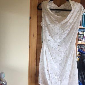 All Saints White Cotton Eyelet Amelie Limski Dress